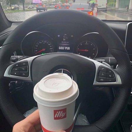 Coffee to go #Golfpub #illycoffee