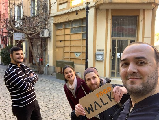 Food Walk: Bulgarian Food and Culture Tour in Plovdiv: A selfie at the start of the tour