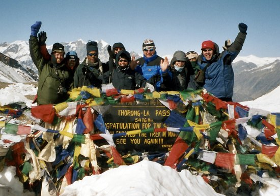 On the Thorong La Pass, Nov 2005