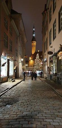 Tallinn Ghost and Legends Walking Tour: Tallinn city street