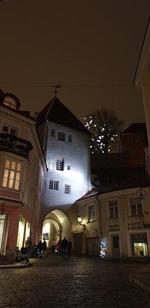 Tallinn Ghost and Legends Walking Tour: Tallinn city street - Pikk gate