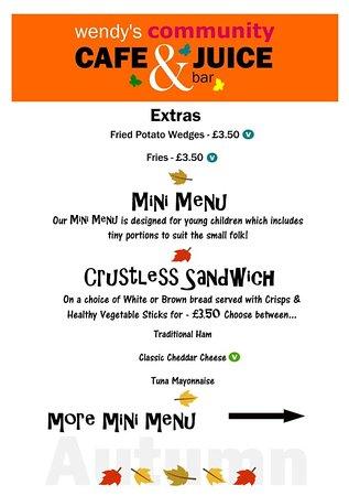 Great Bedwyn, UK: winter menu page 4