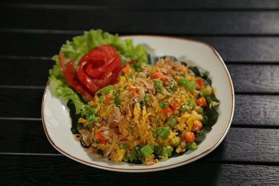 Fried rice with veggies