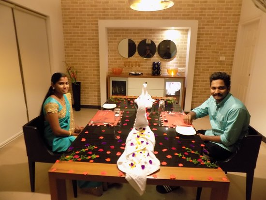 Candle Light Dinner At Swiss County Resort Munnar
