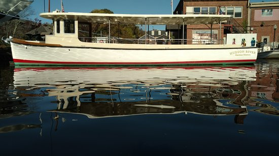 Kingston, NY: Solaris- First Fully Solar Powered Coast Guard Inspected passenger vessel in the US.  Available for charter and tours