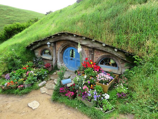Hobbiton™ Movie Set 2-Hour Walking Tour from Shires Rest: A tall lanky guy like me wouldnt fit in!