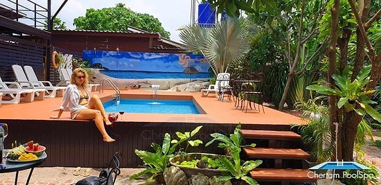 Swimming pool by OASIS LIPE RESORT❤️❤️❤️