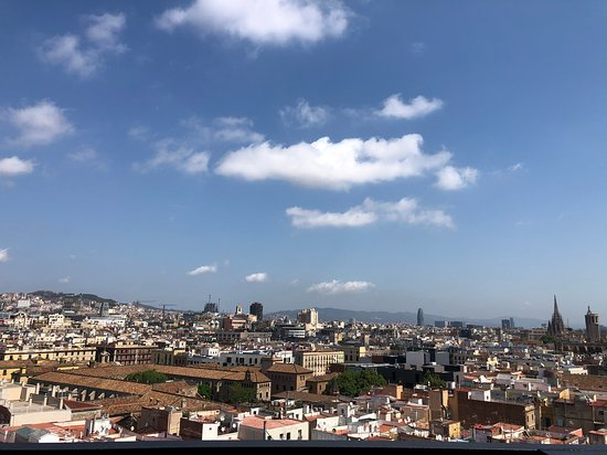 Barcelona, Spain: A view from the top!