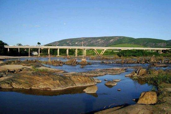 Vista da ponte.