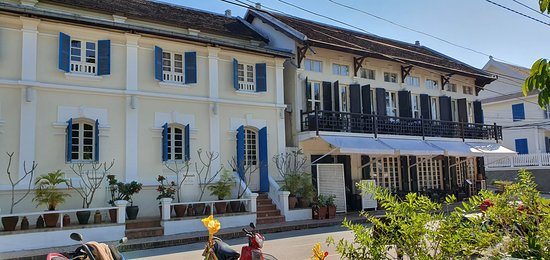 Belle Rive,a very nice small boutique hotel on the Mekong Riverbank