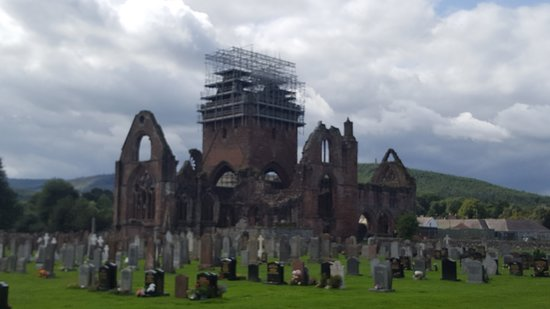 New Abbey, UK: vista global