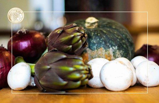 Ingredienti sempre freschi selezionati sul territorio.