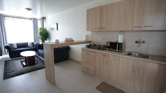 Ruaka, Kenya: Our apartments are open plan, creating more space for you to move about