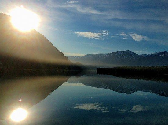 Sunrise on Kenai Lake!