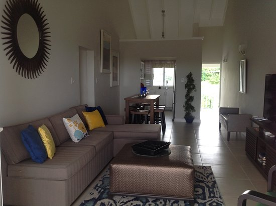 "Priory, Jamaïque : Relaxing living space with 50"" television with cable. Games available on request"