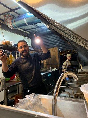Grandiosa visita de Tulio Zuloaga en nuetro Burger Master