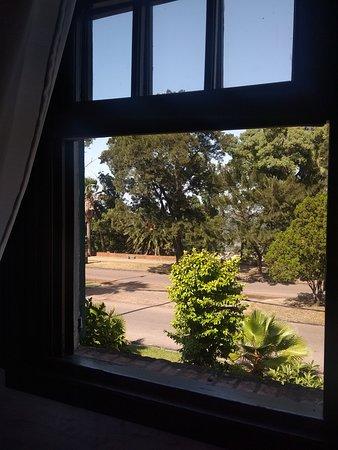 vista desde una de las ventanas de la habitacion 5