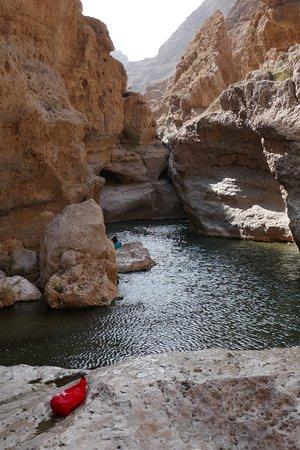 """Sehr schönes Wadi / bei Google Maps offline Karte """"Wadi al Shab eingeben (nicht Wadi Shab)"""