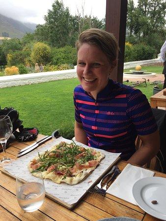 Lunch stop at La Bodega on Dornier Wine Estate