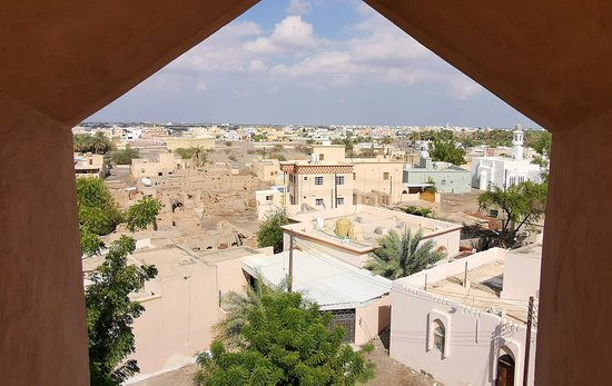 view from Al Hazm Castle