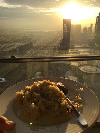 Fried rice over sunrise. Breathtaking.