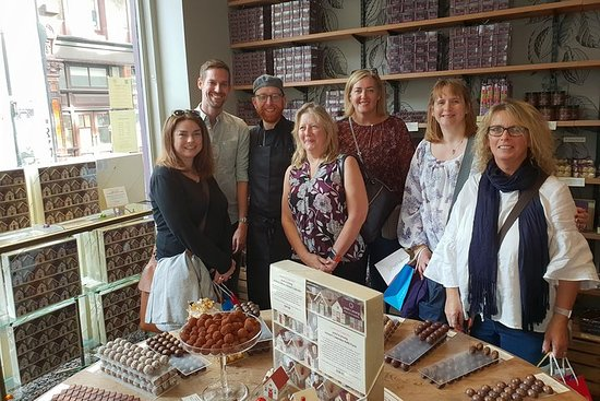 Visite de dégustation de chocolat à Mayfair