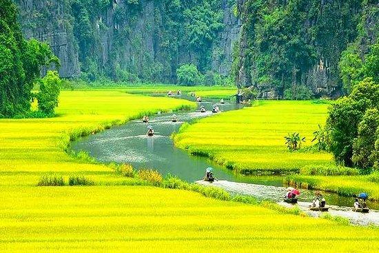 Hanoi - Hoa Lu - Tam Coc - Grotte Mua...