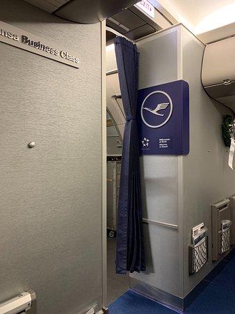 Lufthansa: Kabine, Teilansicht