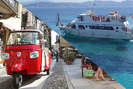 在篤篤+拉馬達萊娜群島乘船遊覽Olbia-Cannigione