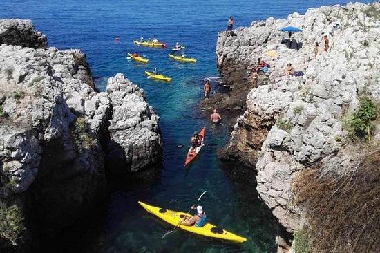 Excursion en kayak à PORTO SELVAGGIO - Salento