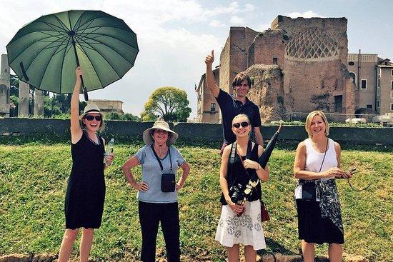 Colosseum, Forum Romanum, Palatine Hill...