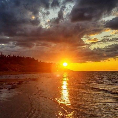 Sunset at Cabot Beach