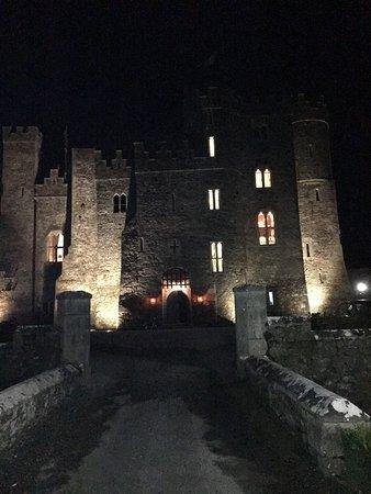 Kilkea Castle in the evening...