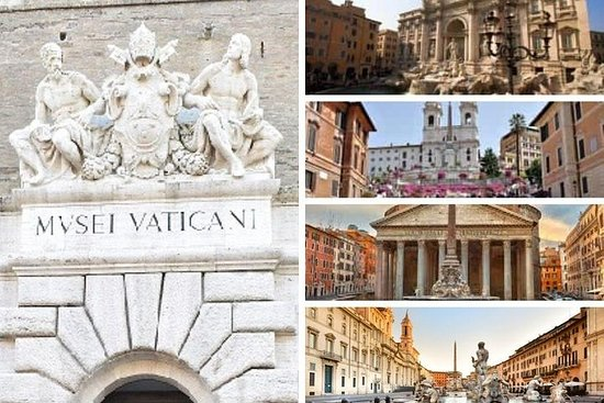 Rome 7 Wonders: van de Sixtijnse Kapel ...