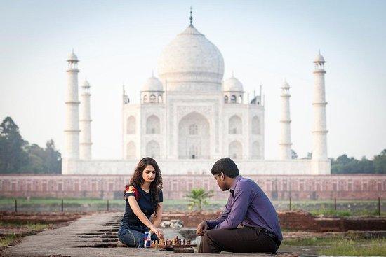 Tour privé du Taj Mahal en voiture...
