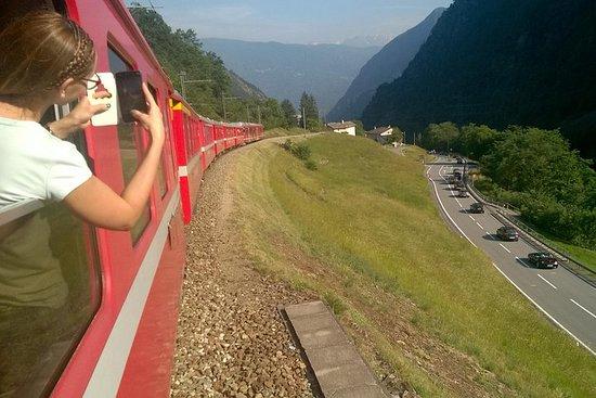 St Moritz y Bernina express. Salida...