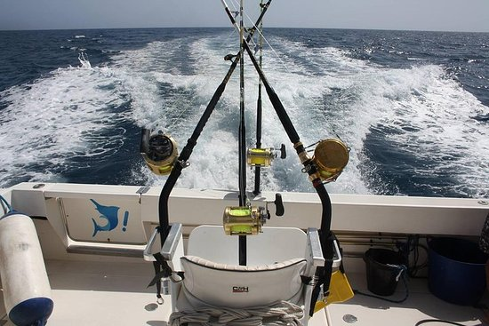 6 horas de pesca deportiva en barco...