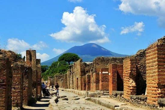 Pompeii and Vesuvius Day Trip from...