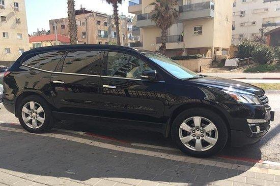 Transport privé de l'aéroport Ben Gourion à Jérusalem City Hotels
