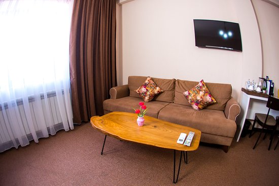 Deluxe room with coffee machine