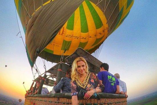 Vol en montgolfière VIP à Louxor...