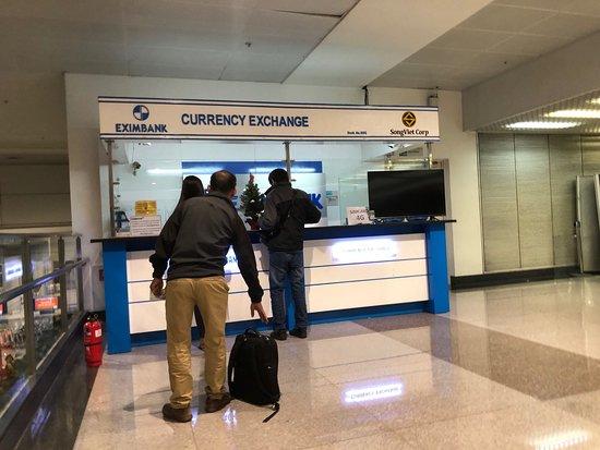 Tan Son Nhat International Airport Transfer: 両替所
