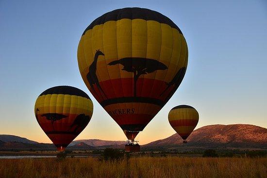 Safári em balão de ar quente no...