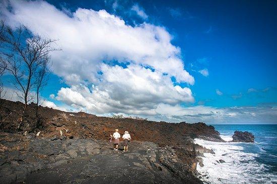 Caminhada no vulcão de elite dos resorts Kona / Kohala