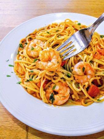Spaghetti Scampi 😋👍🏻  GUSTO Tavola Calda  Friedrich-Ebert-Straße 163  34119 Kassel