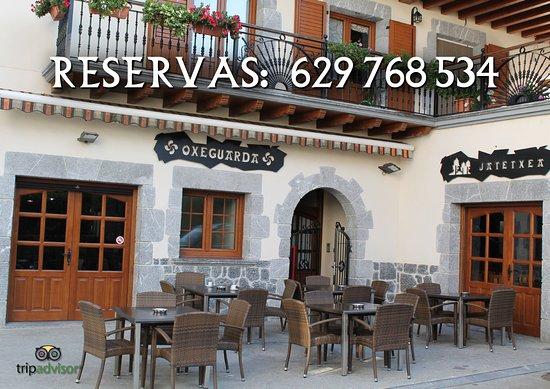 Goizueta, España: Teléfono reservas: 629 768 534