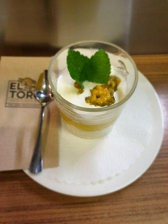 Restaurant El Toro Gotthard: Dessert bei Gesellschaften