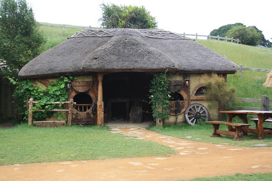 Hobbiton™ Movie Set 2-Hour Walking Tour from Shires Rest: The smithies hut beside the tavern.