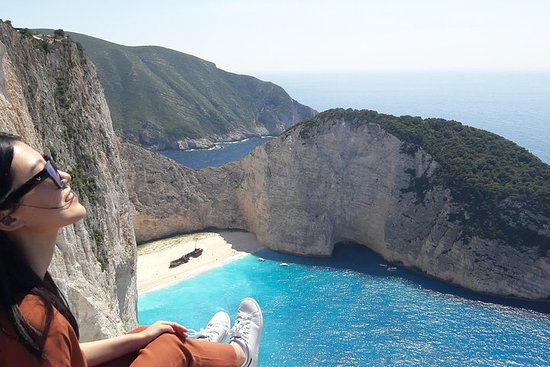 Zakynthos island: One day tour to Navagio Shipwreck Beach Blue Caves...
