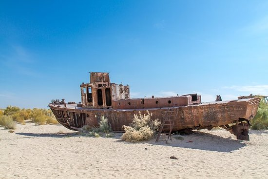 Adventure Trip To The Aral Sea